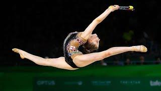 Hannah Martin: Incredible rhythmic gymnast