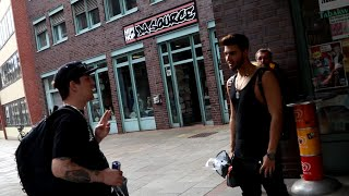 Freestyle Battle Monte vs. ApoRed | Vlog aus Hamburg
