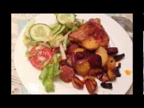 Кулинарный рецепт Второе Курица с чоризо по испански