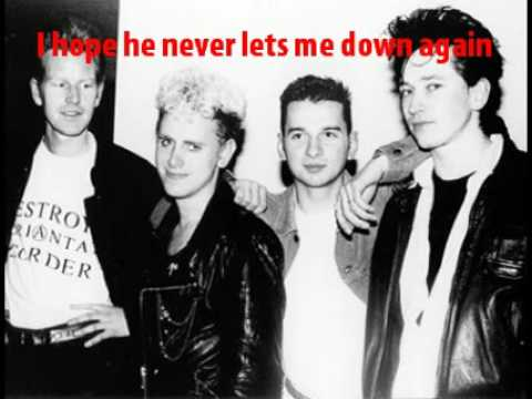 Depeche Mode - Never Let Me Down Again - lyrics