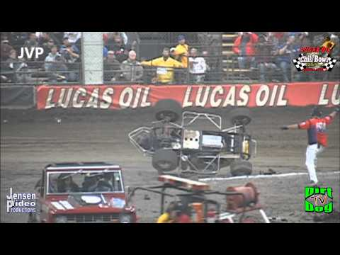 2012 Chili Bowl CARNAGE 2 | Crashes & Mishaps | Tulsa, OK | Jan 12/13, 2012