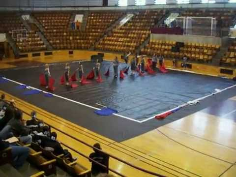Hollister High School WinterGuard MSU 2011