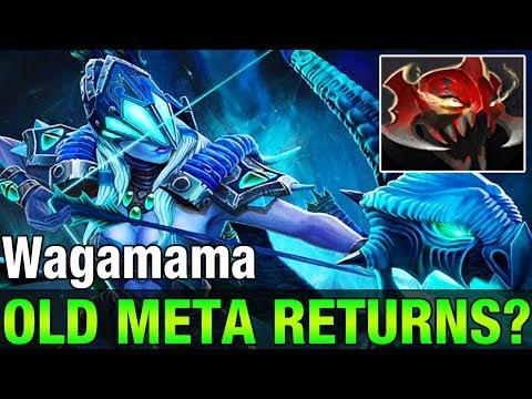 OLD META RETURNS? Wagamama 7,4K MMR Plays Drow Ranger - Dota 2