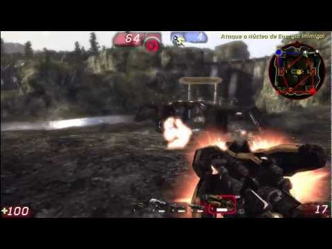Unreal Tournament 3 Gameplay - Torlan (Warfare)