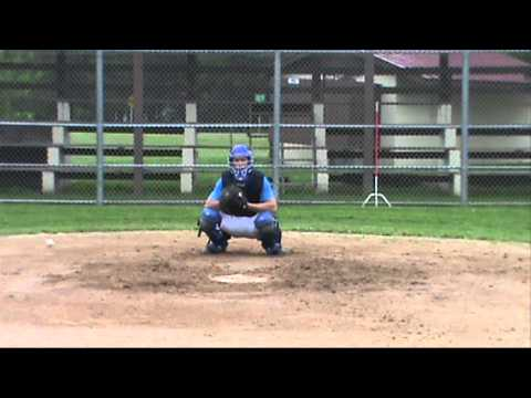 Logan Hile (C, OF) Rice Lake High School Class of 2016 Baseball Skills Video