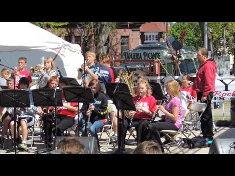 Clovis Point Intermediate School Jazz Band - JB Rides Again