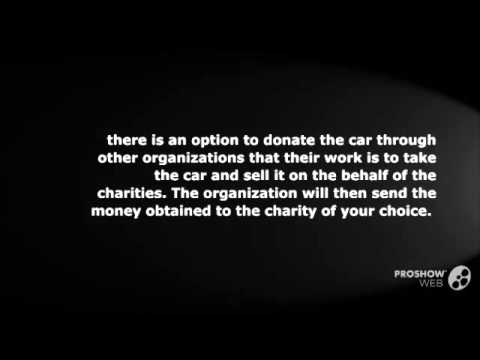 How to Help Others Through Car Donation
