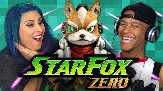 STAR FOX ZERO (Adults React: Gaming)