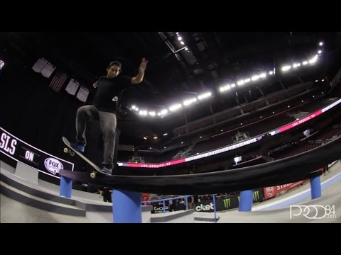 Paul Rodriguez Street League LA 2014