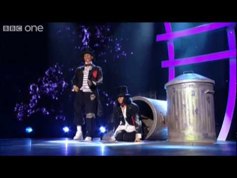 http://www.bbc.co.uk/soyouthinkyoucandance Cat Deeley presents as Arlene Phillips and 'Nasty' Nigel Lythgoe search for Britain's favourite dancer. Mark and L...