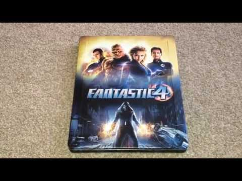 Fantastic four UK Blu-ray steelbook unboxing
