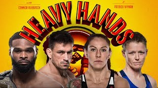 UFC 214 preview: Woodley-Maia & Cyborg-Evinger (Heavy Hands #168)