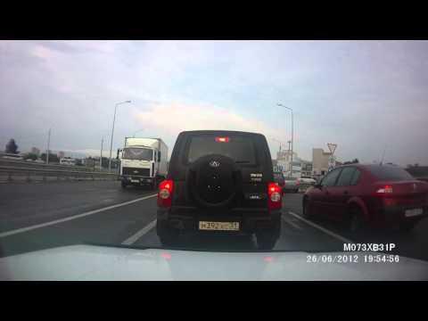 ДТП в Белгороде с грузовиком