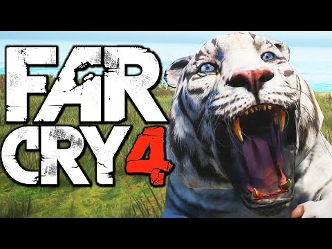 Far Cry 4 Funny Moments (Hunting Rare Bengal Sky Tiger. Honey Badger Fun)