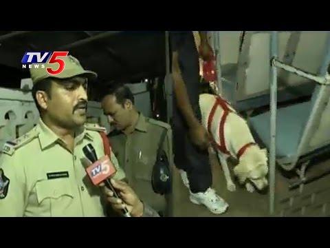 Black Day Alert   Tight Security In Telugu States   TV5 News