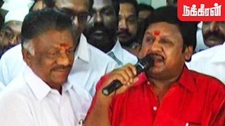 Ramarajan Supports OPS as TamilNadu Chief Minister