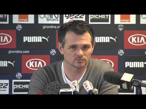 Willy Sagnol - Point Presse - PSG vs Bordeaux