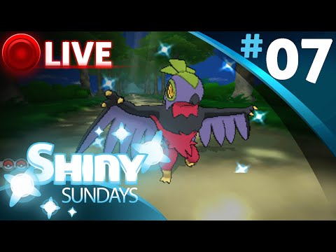 Pokemon X & Y: Shiny Pokemon Hunting LIVE #7 (GIVEAWAY)