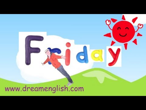 The Days of the Week Song | ESL KidStuff Blog