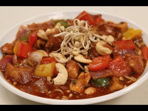Hunan Chicken   Indian Chinese Recipes   Sanjeev Kapoor Khazana