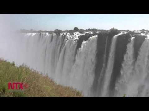 Victoria falls en Zambia, de las cascadas más espectaculares del mundo