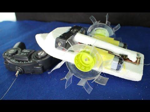 Как сделать из игрушек лодку
