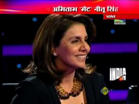 Watch Ranbir Kapoor-Neetu Singh at KBC with Big B