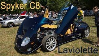 In Detail: Spyker C8 Laviolette