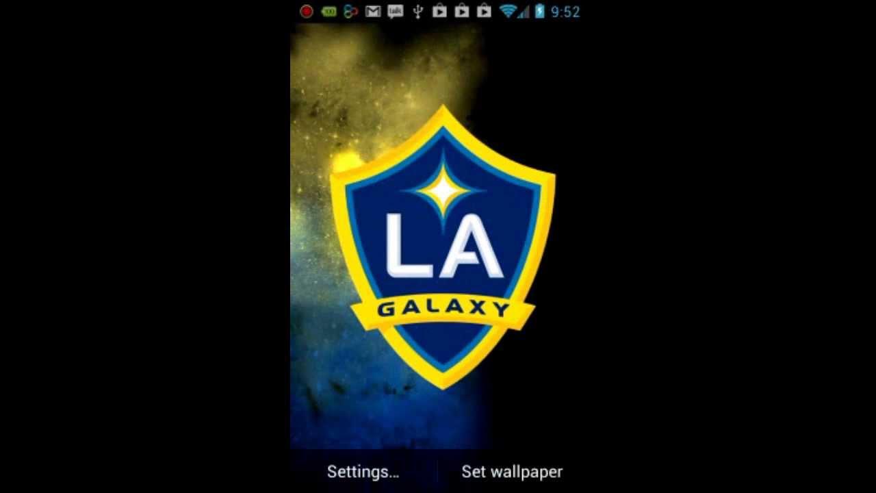 la galaxy live wallpaper youtube