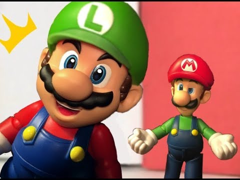 What If Mario & Luigi Switched Hats?? - StopMotion Animation