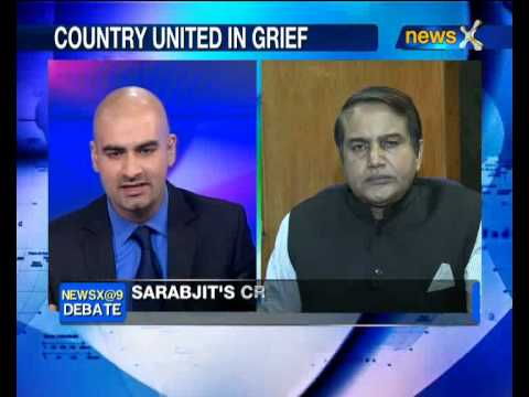 NewsX Debate: How should India tackle Pak after Sarabjit's death? -- part 1