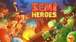 Trò chơi anh hùng bảo vệ dân làng khỏi yêu tinh xâm lược - cu lỳ chơi game semi heroes