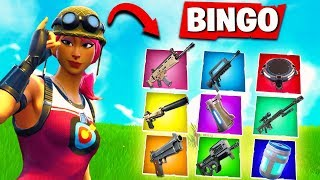 Lustige Bingo Challenge in Fortnite Battle Royale !