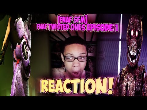 FIVE NIGHTS AT FREDDY'S: THE TWISTED ONES [EPISODE 1#] REACTION || WELP, THEY GOT EATEN!