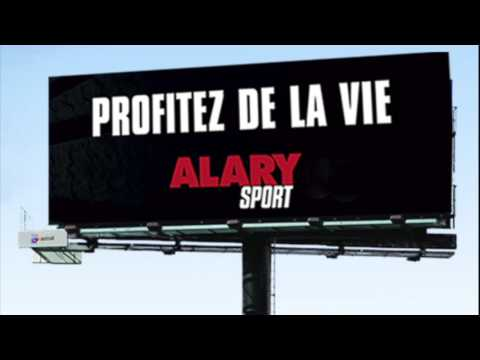Messages radio pour Alary Sport