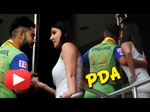 SPOTTED!! Anushka Sharma And Virat Kohli Indulge In PDA | IPL 2015