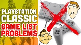 PlayStation Classic Game Library Problems - Hot Take