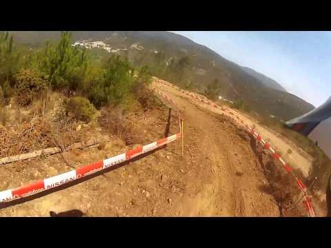 """GoPro HD - """"Jos� Machado"""" - Campeonato Nacional Downhill // Pampilhosa da Serra"""