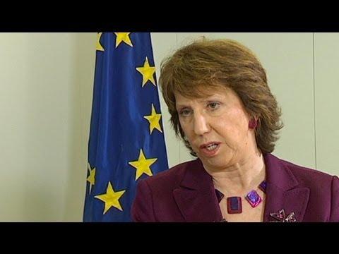 euronews interview - Catherine Ashton
