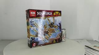 Mở hộp Lepin 06094 Bela 11160 Lego Ninjago Movie 70666 The Golden Dragon giá sốc rẻ nhất