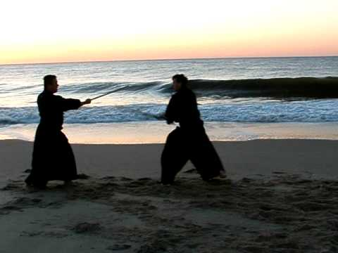Hakka no Tachi - Kenjutsu Training at the Beach (HH&RC) Image 1