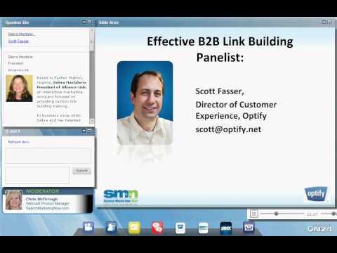 Expert Panel: Effective B2B Link-Building