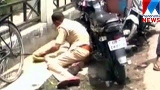 Drunkared police in Kanpur-video viral    Manorama News