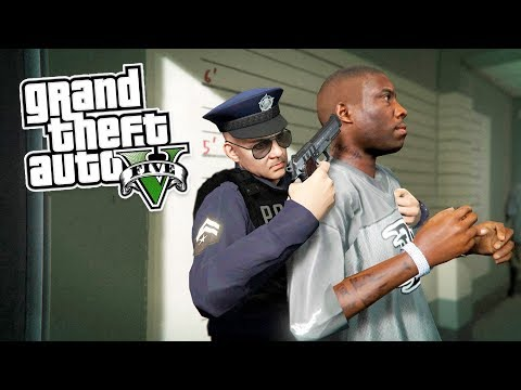 GTA 5 Игра за Полицейского #6 - ВЫНОШУ ЧЁРНЫЙ МУСОР!! (ГТА 5 МОДЫ LSPDFR)