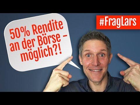 50% Rendite An Der Börse - Möglich?! - #FragLars