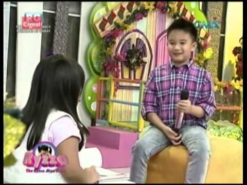 Bimby Aquino Yap on The Ryzza Mae Show, 12-24-13