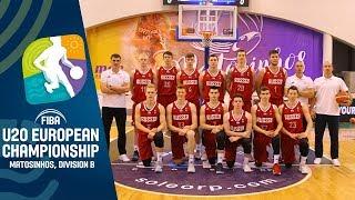 Hungary v Russia - Full Game - FIBA U20 European Championship Division B 2019