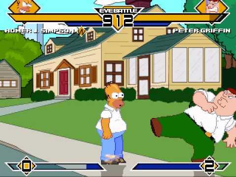 Peter Griffin Vs Homer Simpson - Ultimate Battle video