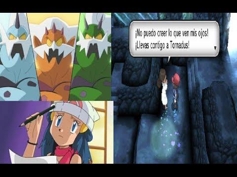 Pokémon Y Ep.17   Cómo conseguir el Espejo Veraz para Landorus. Thundurus y Tornadus