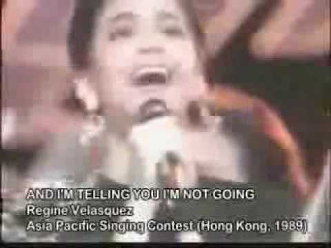 Regine Velasquez - Asia Pacific Song Festival 1989 (Perfect Pitch)